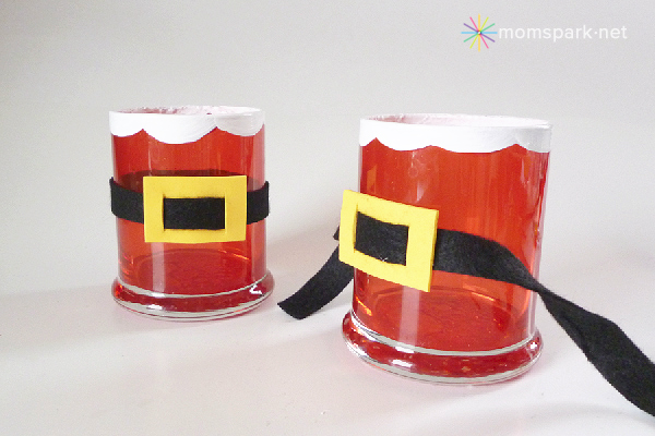 Stained Santa Votives Tutorial