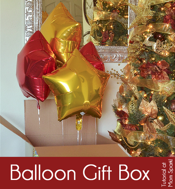 Balloon Gift Box - A Gifting Experience Tutorial