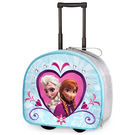 Anna & Elsa Rolling Luggage
