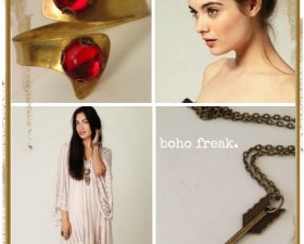 boho freak collage
