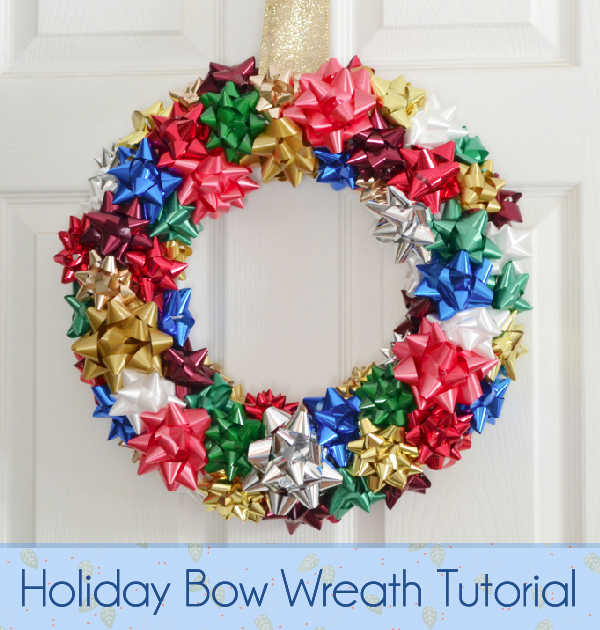 DIY: Holiday Bow Wreath Tutorial