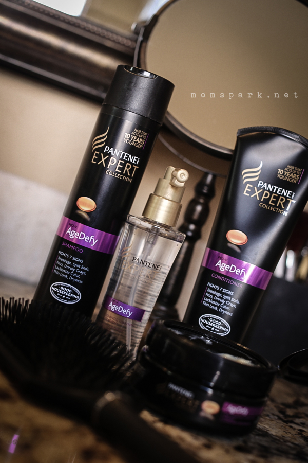 review of their AgeDefy products, which is a line of anti-aging hair