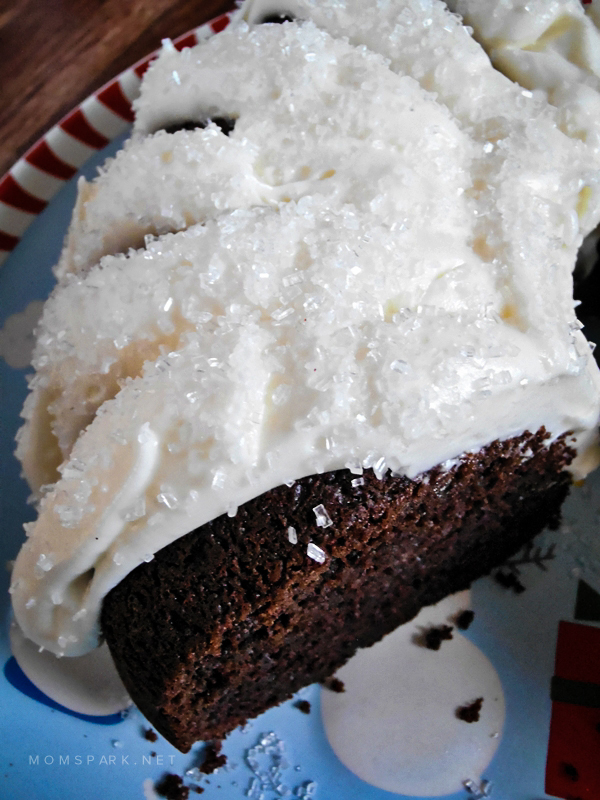 Chocolate and Peppermint Bundt Cake Recipe