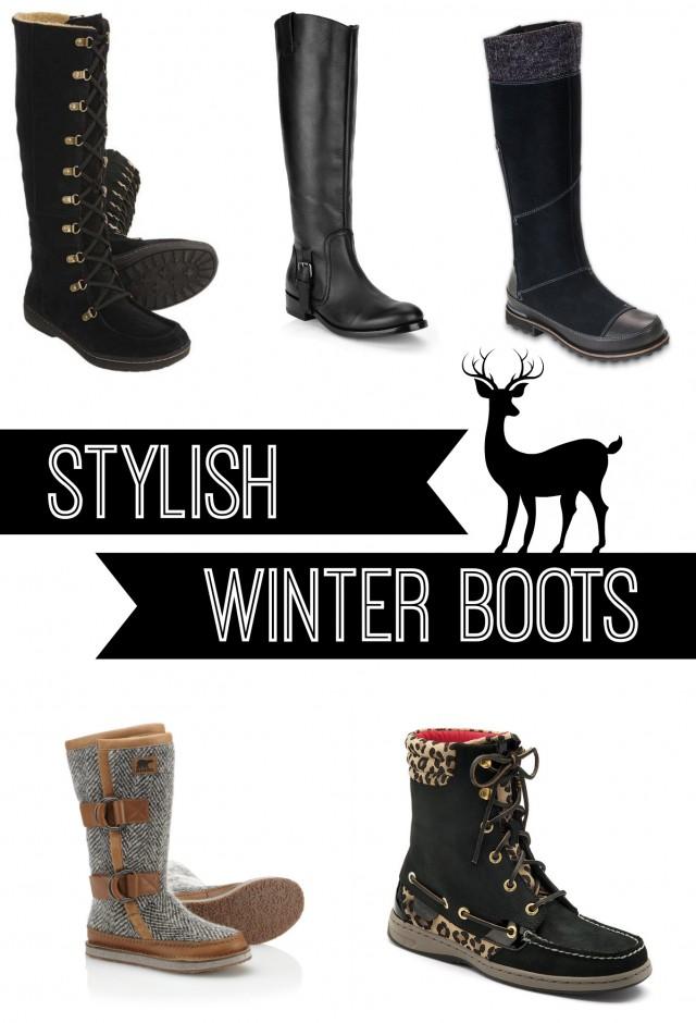 Stylish Winter Boots Mom Spark Mom Blogger