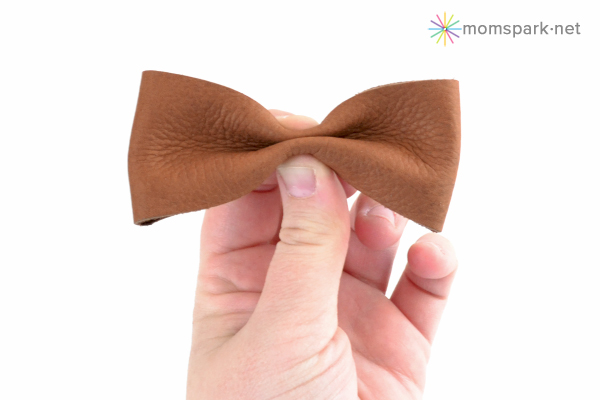 DIY Leather Hair Bows Tutorial