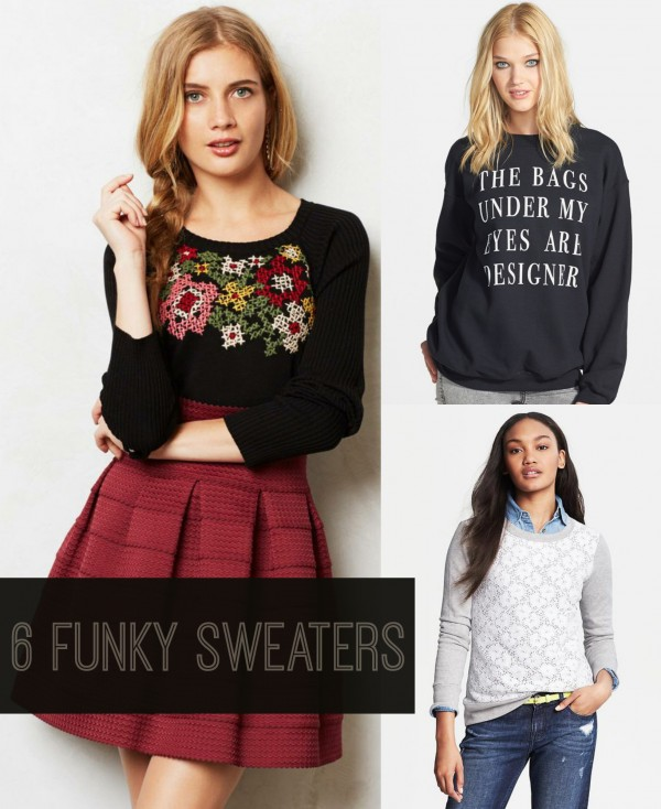 Funky Sweaters To Keep You Warm All Winter