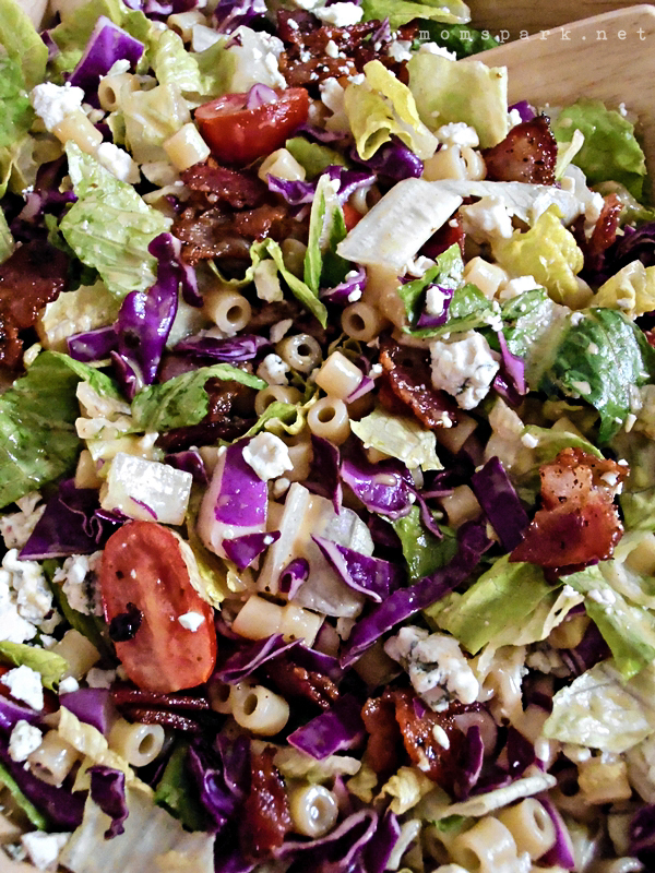 Chopped Pasta Salad with Honey Mustard Dressing Recipe