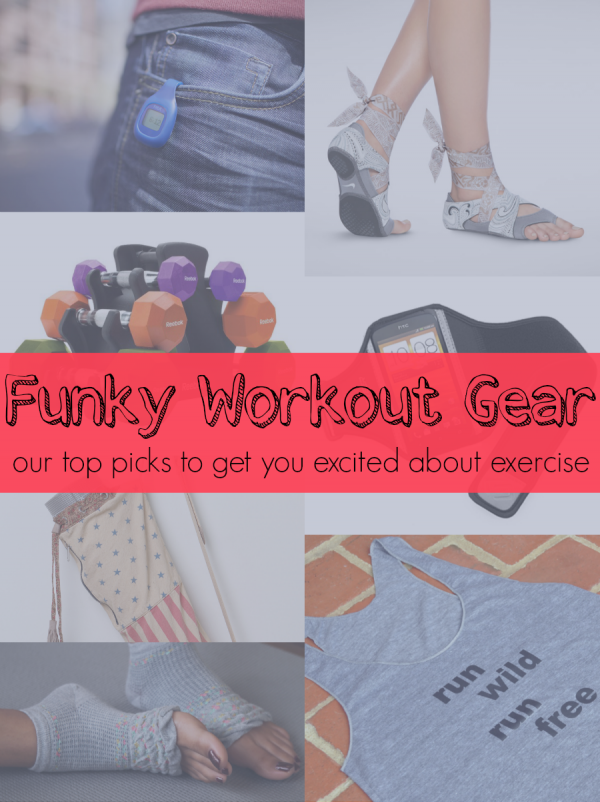 Funky Workout Gear That'll Get You Excited About Exercise!