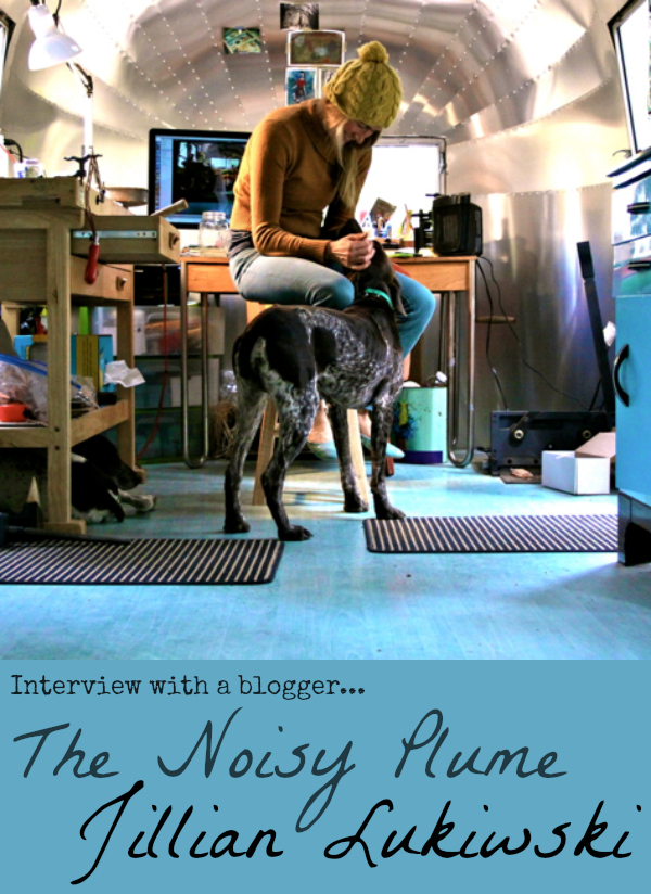 Interview With A Blogger: The Noisy Plume, Jillian Lukiwski