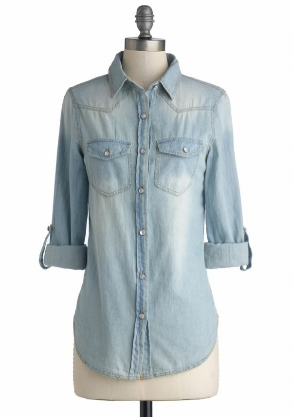 Fashion Friday: Jean Shirt Style