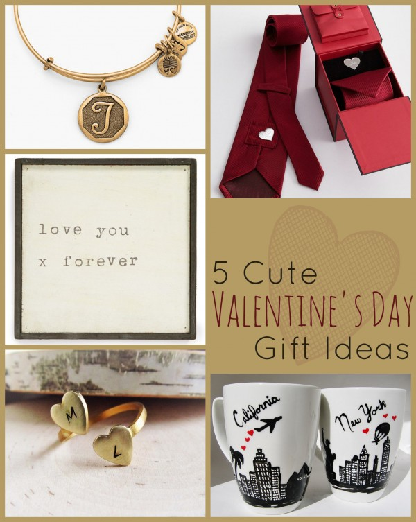 5 Cute Valentine's Day Gift Ideas