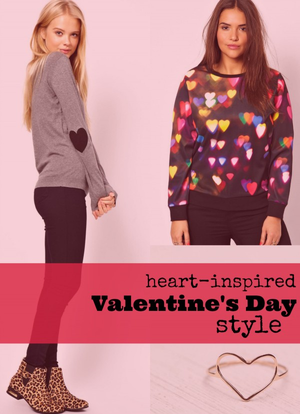 Heart-Inspired Valentine's Day Style
