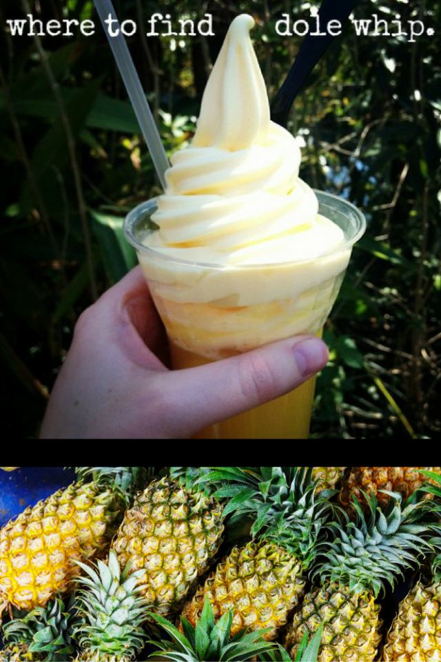 Where to Find Dole Whip at Walt Disney World and Disneyland Parks