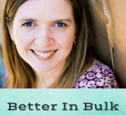 Interview With A Blogger: Laura Franklin, Better In Bulk