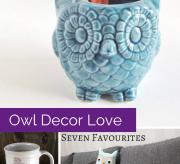 Mom Spark Finds: Owl Decor