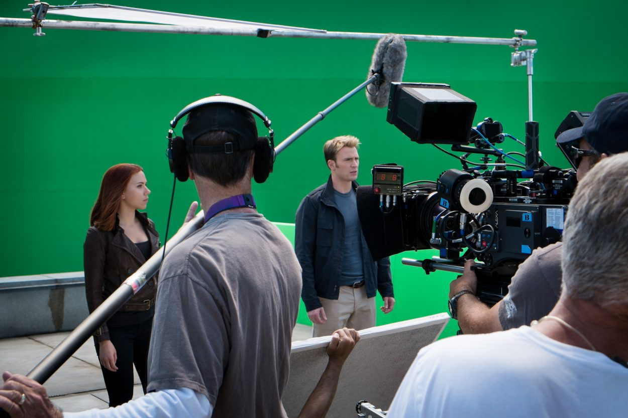 Visiting the CAPTAIN AMERICA: THE WINTER SOLDIER Set and Meeting Chris Evans