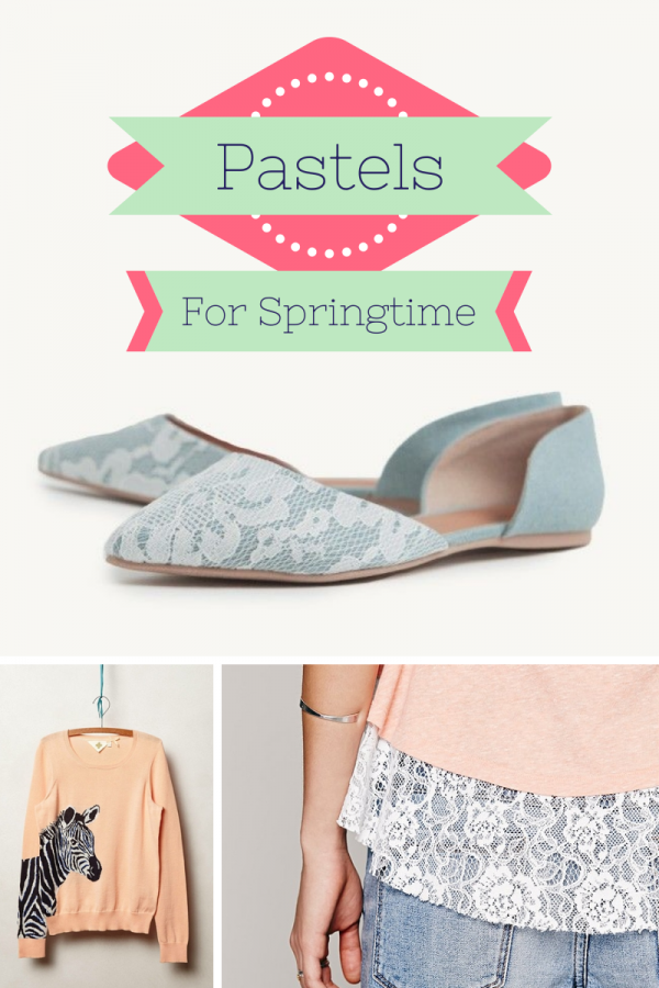 Fashion Friday: Pastels For Springtime