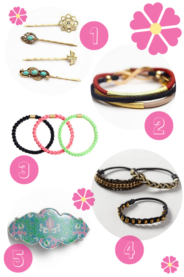 Fashion Friday: Spring Hair Accessories