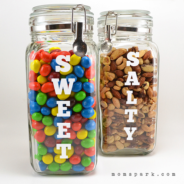 Craving Snack Jar Labels Tutorial