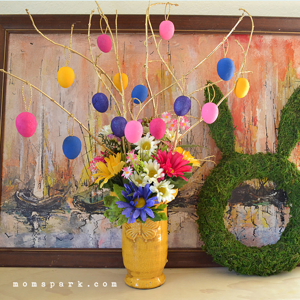 Cheerful Easter Tree Tutorial