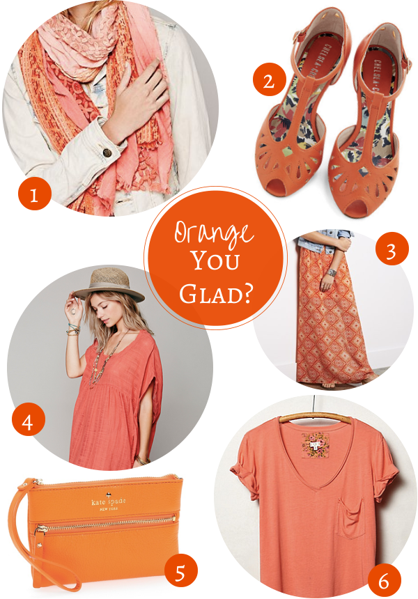 Fashion Friday: Orange You Glad?