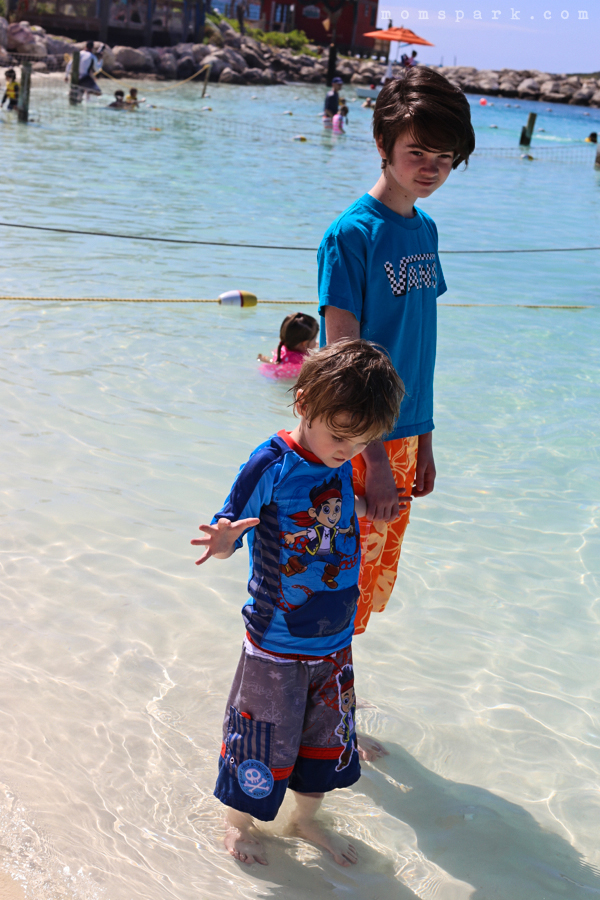 Splash Pad Castaway Cay