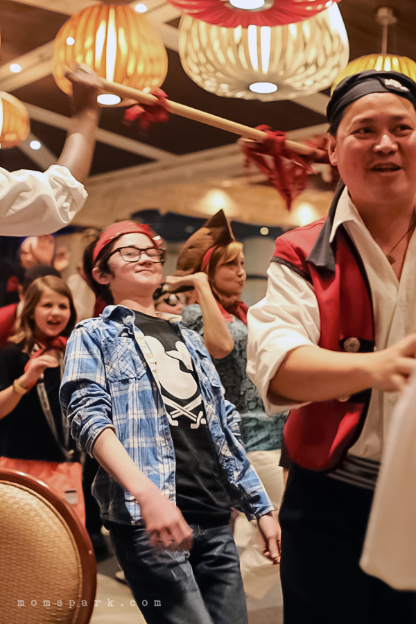 Disney Magic Pirate Night Party