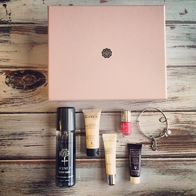 Beauty Box Clubs: GLOSSYBOX – March 2014 Review
