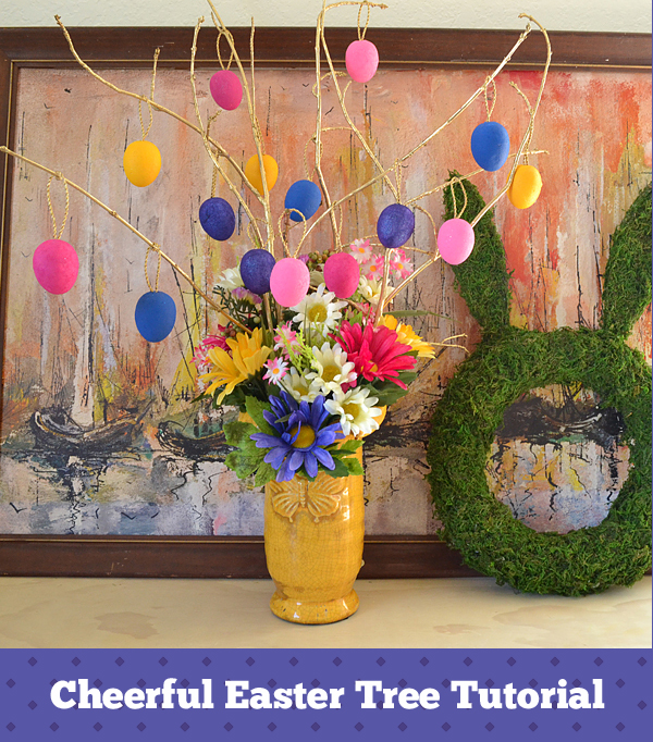 Cheerful Easter Tree Tutorial