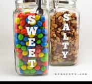 Craving Snack Jar Labels