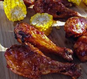 Honey Barbecue Chicken Drumsticks Recipe