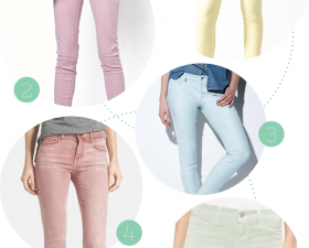 Pastel Denim for Spring