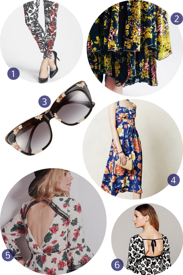 Fashion Friday: Fun, Feminine, Fabulous Florals