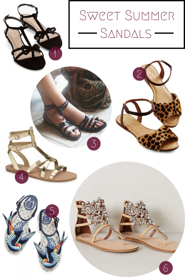 Fashion Friday: Sweet Summer Sandals