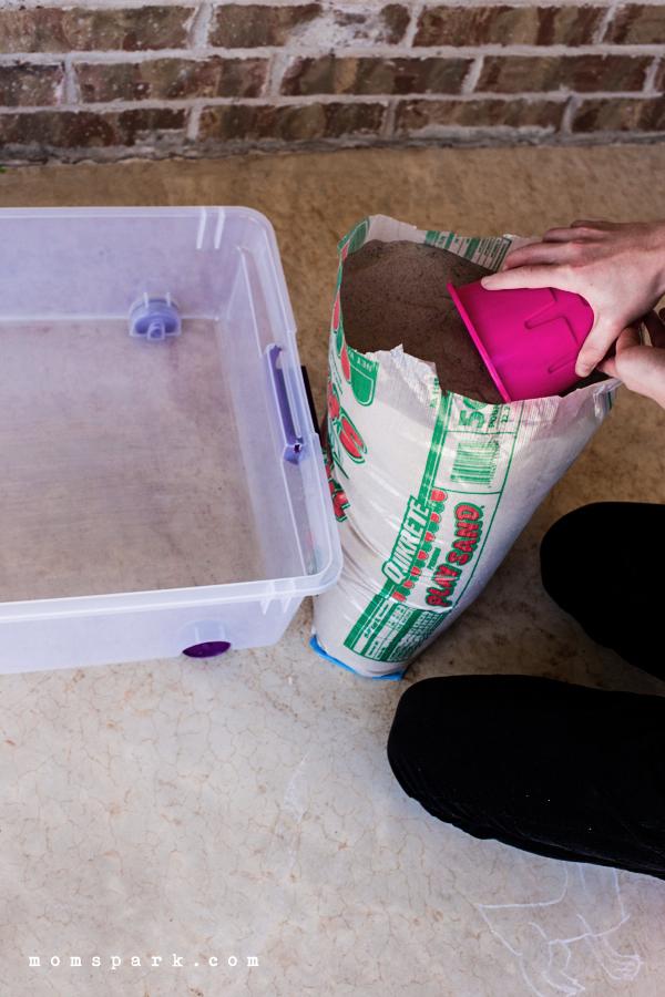 DIY: 5 Minute Sandbox