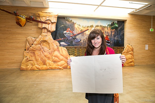 PLANES FIRE & RESCUE: The Art of Story (and Drawing Dipper!)