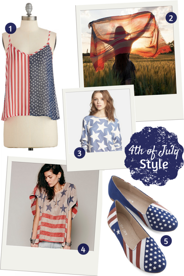 Fashion Friday: Fourth Of July Style!