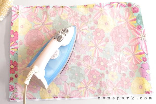 DIY Reversible No Sew Placemats