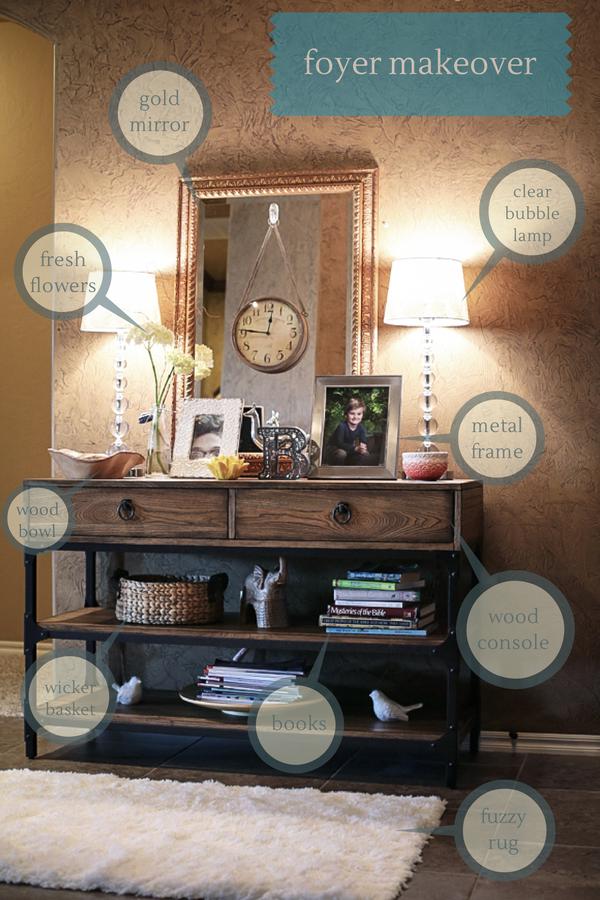 Home Decor Series: Foyer Makeover!