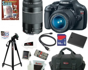 Canon Rebel T3 DSLR Camera