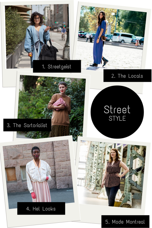 5 Favorite Street Style Blogs