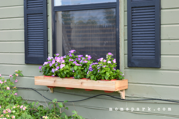 DIY Window Flower Box from Scratch