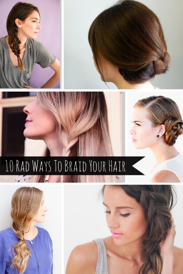 Prime 10 Rad Ways To Braid Your Hair Mom Spark A Trendy Blog For Short Hairstyles For Black Women Fulllsitofus