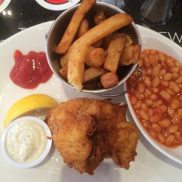 Fish & Chips in London, England