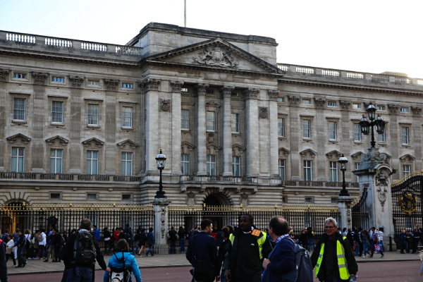 Buckingham Palace in London, England
