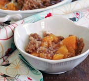 Juicy Peach Crisp Recipe