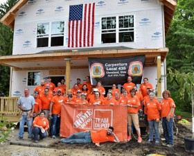 Team Depot at the Haworth Home