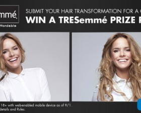 #TresemmeTransformation Twitter Party