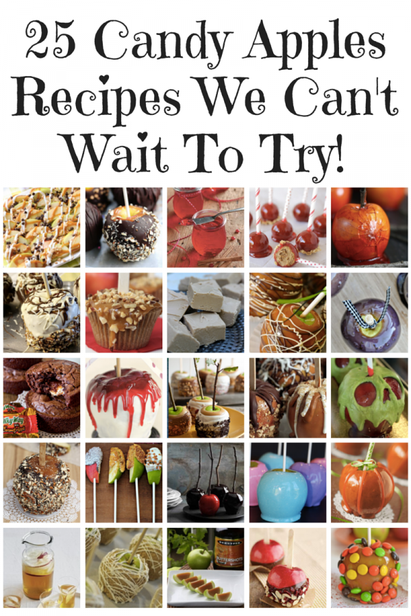 25 Candy Apples Recipes We Can't Wait To Try!