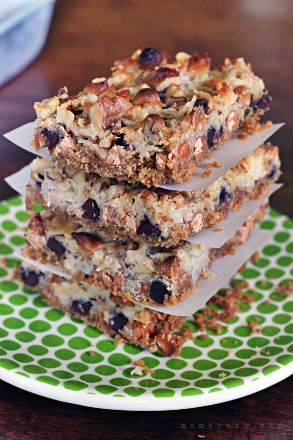 Hello Dolly Bars, often referred to as Magic Bars, are a classic bar dessert that many home bakers have made in some form or another. The appeal to these tasty bars is that they contain a bit of everything good. Chocolate, butterscotch, coconut and nuts over a graham cracker crumb crust.